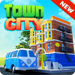 Town City Village Building Sim