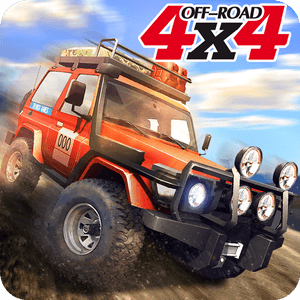 Off Road With 4x4 Hill Jeep Driver